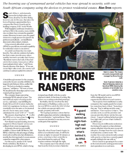 Drone Guards The Drone Rangers